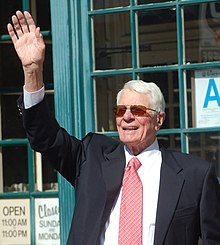 L'actor estatounitense Peter Graves, en una imachen de 2009.