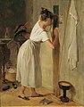 Peter Fendi - Die Lauscherin - 2092 - Kunsthistorisches Museum.jpg