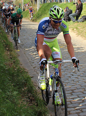 Peter Sagan - Sagan at the 2012 Tour of Flanders, where he finished in fifth place.