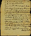 Petition of Billy Tarlton to the court of common pleas in St. Louis County, September 22, 1813.jpg