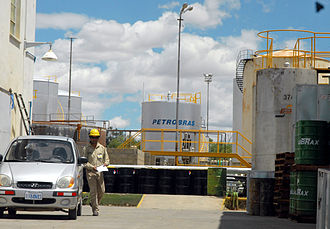 Petrobras - Refinery in Cochabamba, Bolivia, which was nationalized by the Bolivian government in 2007