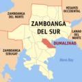 Ph locator zamboanga del sur dumalinao.png