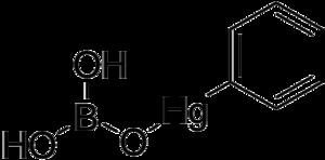 Phenylmercuric borate - Image: Phenylmercuric borate