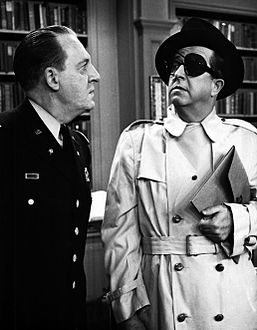 Phil Silvers Howard St. John Bilko the secret agent 1958.JPG