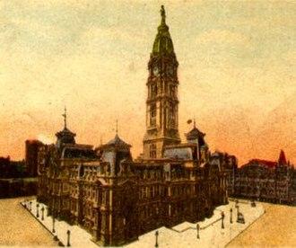Philadelphia City Council - Image: Phila Town Hall