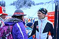 Phillip Orter with his fans, Nordic combined triple in Seefeld, Tyrol, Austria.jpg