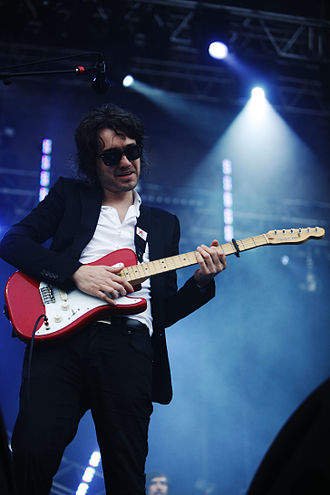 Laurent Brancowitz - Performing at Eurockéennes 2007