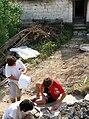 Picquigny (29 juillet 2009) maçonnerie 1.jpg