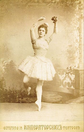 English: Photograph of Pierina Legnani (1863-1...