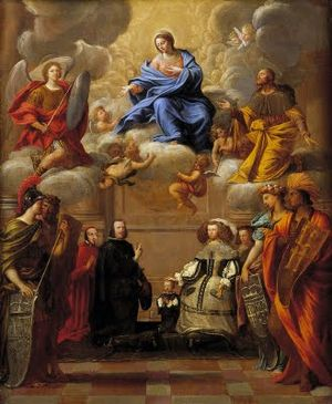 Pietro del Po - Apotheosis of the Virgin by Pietro del Po, Toledo Cathedral