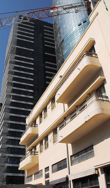 בית בסגנון באוהאוס בתל-אביב