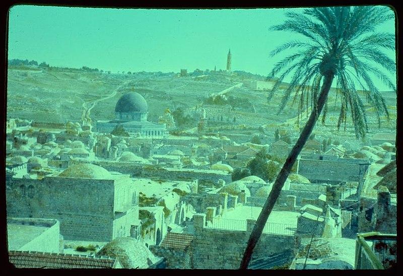 העיר העתיקה והר הזיתים
