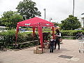 Pimms stand at Newport Morrisons during Isle of Wight Festival 2012.JPG