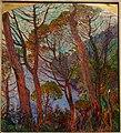 Pines Before the Sea by Rubaldo Merello (1872-1922), 1910-1914, oil on cardboard - Accademia Ligustica di Belle Arti - DSC02296.JPG