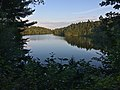 Pink Lake at sunset Gatineau Park 01.jpg