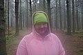 Pink human freshly awakened in the woods by Route de l'Ancienne Douane in Stavelot, Belgium (sensor is fogged, DSCF3622).jpg