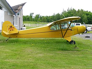 Piper PA-11 Super Cub CF-CUB 1947 model Photo 1.JPG