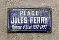 Place Jules Ferry (Lyon) - plaque de rue.jpg
