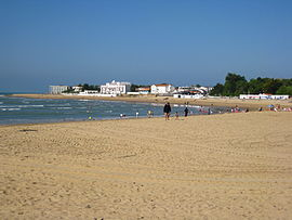 The beach at La Tranche-sur-Mer
