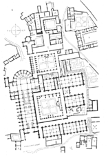Plan of the Clairvaux Monastery