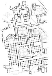 Plan.abbaye.Clairvaux.2