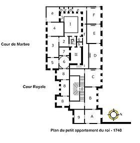 petit appartement du roi wikip dia. Black Bedroom Furniture Sets. Home Design Ideas