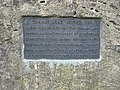 Plaque on Thames Head Bridge - geograph.org.uk - 1206824.jpg