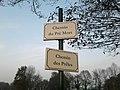 Plaques Chemin Pré Mort Chemin Prêles St Cyr Menthon 2011-11-22.jpg