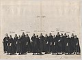 Plate 17- Aides marching in the funeral procession of Archduke Albert of Austria; from 'Pompa Funebris ... Alberti Pii' MET DP874767.jpg