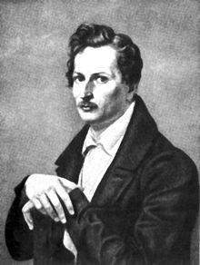 Count von Platen, target of Heine's satire in Die Bäder von Lucca (Source: Wikimedia)