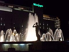 Plaza Cataluña by night.JPG