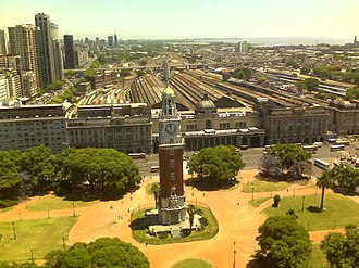 Retiro, Buenos Aires - The Torre Monumental and the Retiro railway station