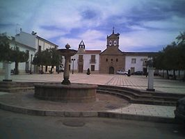 Plaza Mayor in Guarromán