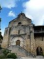 Plazac église clocher-mur.jpg