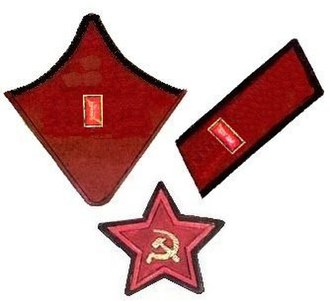 Ranks and insignia of the Red Army and Navy 1935–1940 - Image: Politruk Sensior RKKA 1935 1942