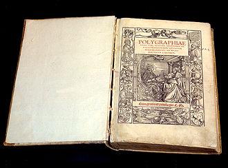 Johannes Trithemius - Image: Polygraphiae