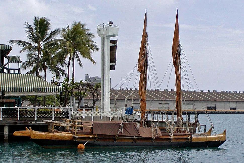 Polynesian canoe replica 1