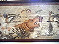 Pompeii mosaic 1 Naples Museum.jpg