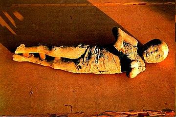 Pompeya. Cadaver de bebé.jpg