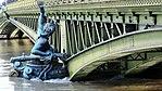 Pont Mirabeau,, Paris, crue de la Seine, janvier 2018 (2).jpg