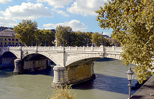 Ponte Giuseppe Mazzini - Image: Ponte Mazzini (Rome)