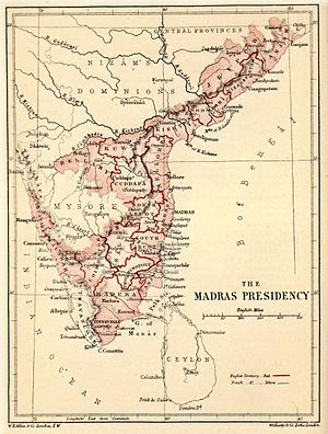Mappila riots - Madras Presidency in 19th century