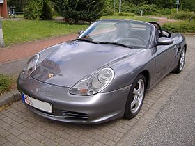 Photo de Porsche Boxster (Type 986) gris