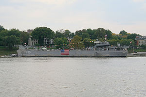USS LST-325 - At 2006 Tall Stacks Festival in Cincinnati, OH