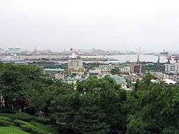Havnen i Inchon.