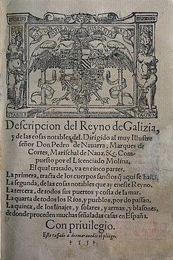 Portada Descripcion del Reyno de Galizia.jpg