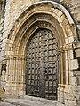 Portada lateral església vella de Xert.JPG