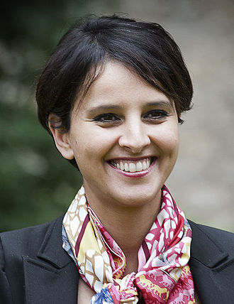 Cazeneuve government - Image: Portrait Najat Vallaud Belkacem crop