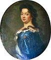 Portrait de Marie Thérèse de Bourbon, Madame de Conti, by a member of the French School.jpg