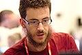 Portrait from Wikimania 2017 — 05 — Brian Wolff.jpg